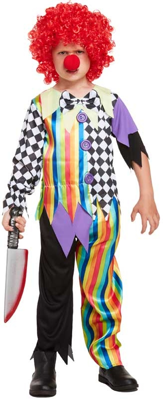 Wholesalers of Fancy Dress Child Clown Large 10-12 Yr toys