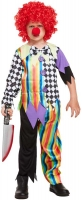 Wholesalers of Fancy Dress Child Clown Large 10-12 Yr toys image