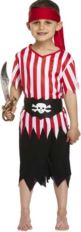 Wholesalers of Fancy Dress Child Pirate Large 10-12 Yrs toys
