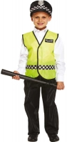 Wholesalers of Fancy Dress Child Policeman Small 4-6 Yrs toys image