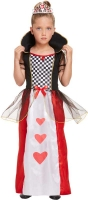Wholesalers of Fancy Dress Child Queen Of Hearts Large 10-12 Yrs toys image