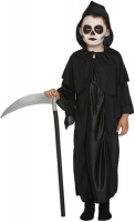 Wholesalers of Fancy Dress Child Reaper Black Medium 7-9 Yrs toys image