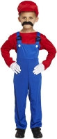 Wholesalers of Fancy Dress Child Super Workman Red Medium 7-9 Yrs toys image