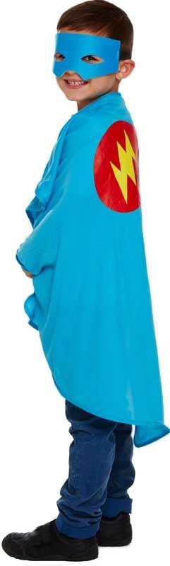 Wholesalers of Fancy Dress Child Superhero Blue One Size toys