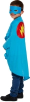 Wholesalers of Fancy Dress Child Superhero Blue One Size toys image