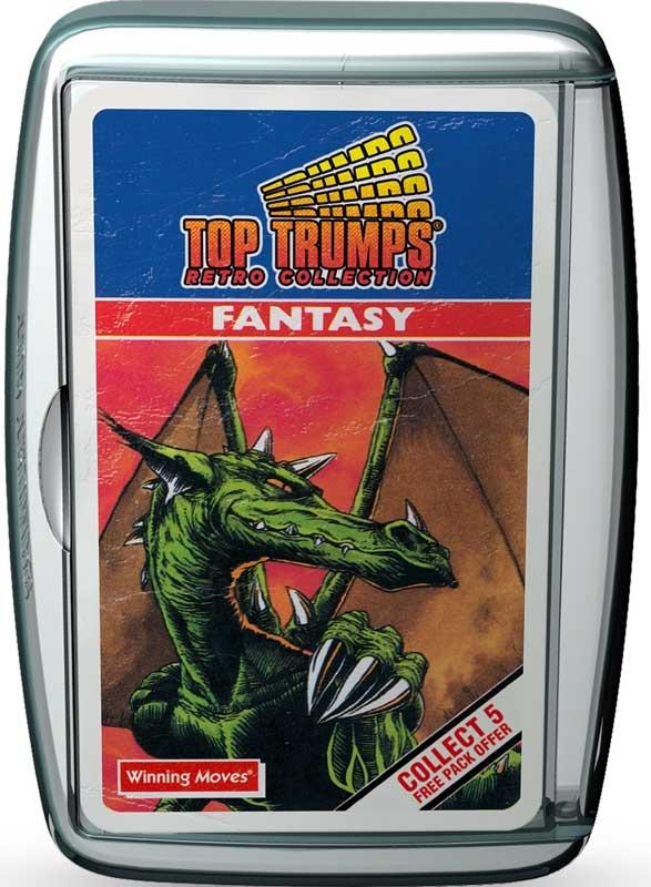 Wholesalers of Top Trumps - Fantasy Retro toys