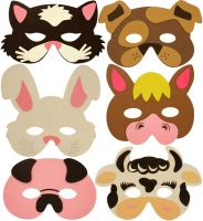 Wholesalers of Farm Animal Masks toys image