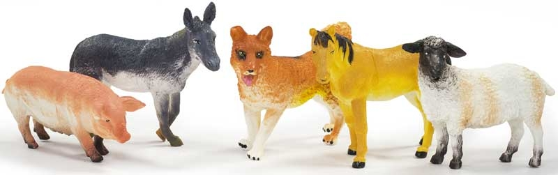 Wholesalers of Farm Animal Set 6 Pc - New Pack toys