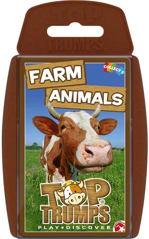 Wholesalers of Top Trumps - Farm Animals toys