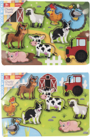 Wholesalers of Farm Chunky Puzzle toys image