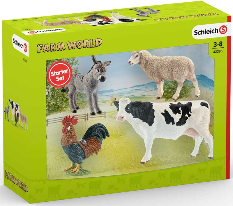 Wholesalers of Schleich Farm World Starter Set toys