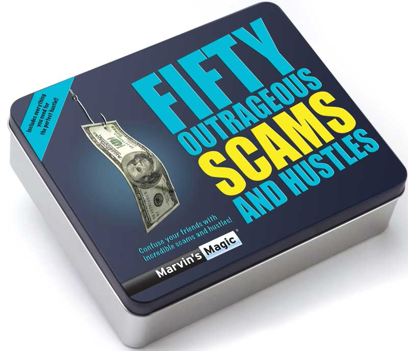 Wholesalers of Fifty Outrageous Scams And Hustles toys