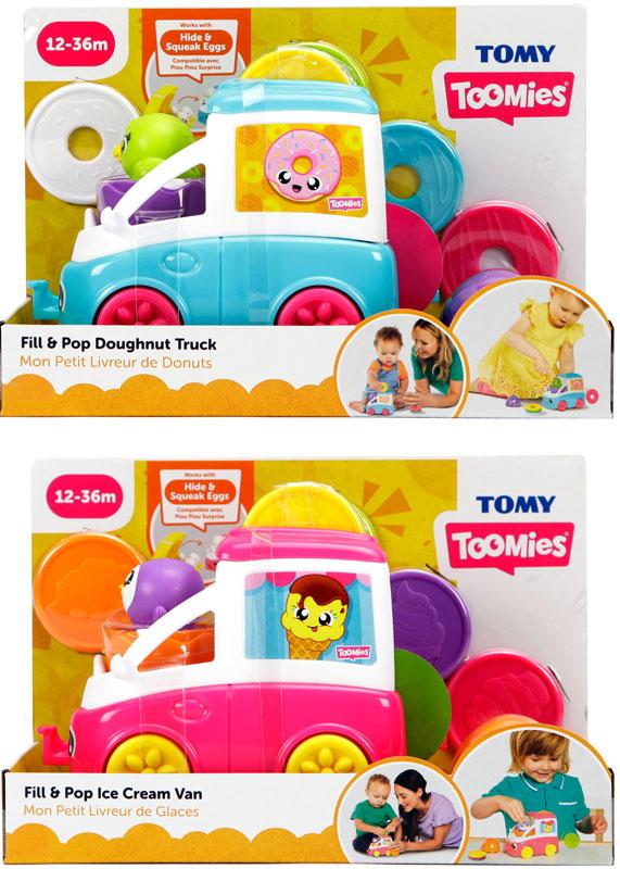 Wholesalers of Fill & Pop Snack Trucks Asst toys