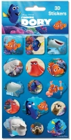 Wholesalers of Finding Dory 3d Single Sticker Sheet toys image