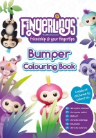 Wholesalers of Fingerlings Bumper Colouring Book toys image