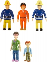 Wholesalers of Fireman Sam Action Figures 5-pack toys image 2