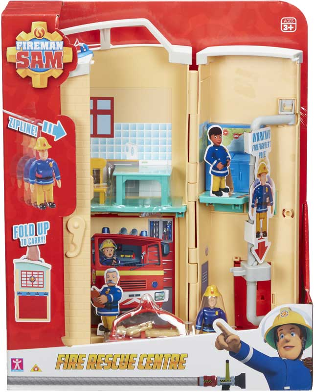 Wholesalers of Fireman Sam Fire Rescue Centre toys