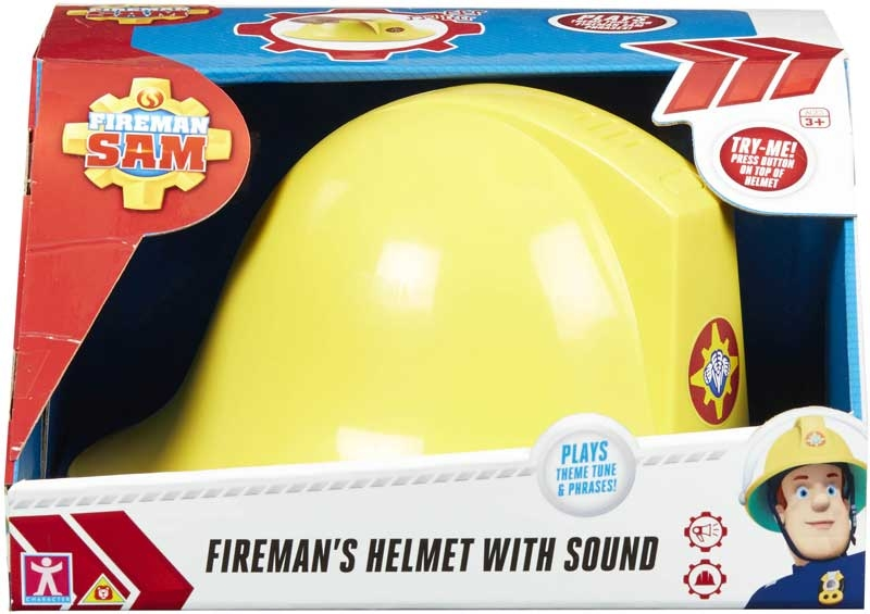 New Fireman Sam Helmet With Sound Plays Theme Tune