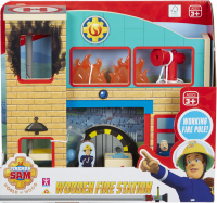 Wholesalers of Fireman Sam Wooden Fire Station toys image