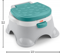 Wholesalers of Fisher Price 3 In1 Basic Potty toys image 2