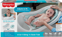 Wholesalers of Fisher-price 4-in-1 Sling N Seat Tub toys Tmb