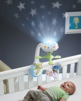 Wholesalers of Fisher-price Butterfly Dreams 3-in-1 Projection Mobile toys image 3
