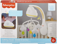 Wholesalers of Fisher Price Calming Clouds Mobile toys image