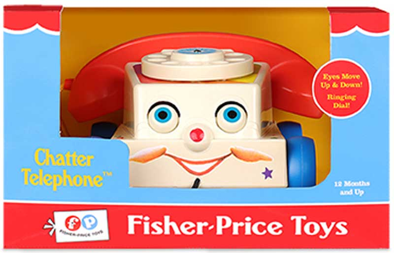 Wholesalers of Fisher Price Classic Chatter Telephone toys