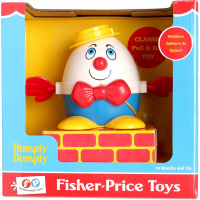 Wholesalers of Fisher Price Classic Humpty Dumpty Pull And Walk toys image