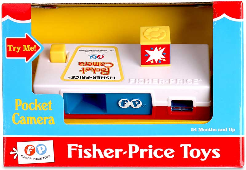 Wholesalers of Fisher Price Classic Pocket Camera toys