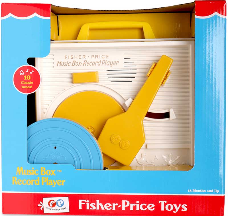 Wholesalers of Fisher Price Classic Record Player toys