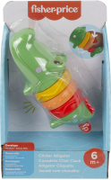 Wholesalers of Fisher Price Clicker Pal Alligator toys image