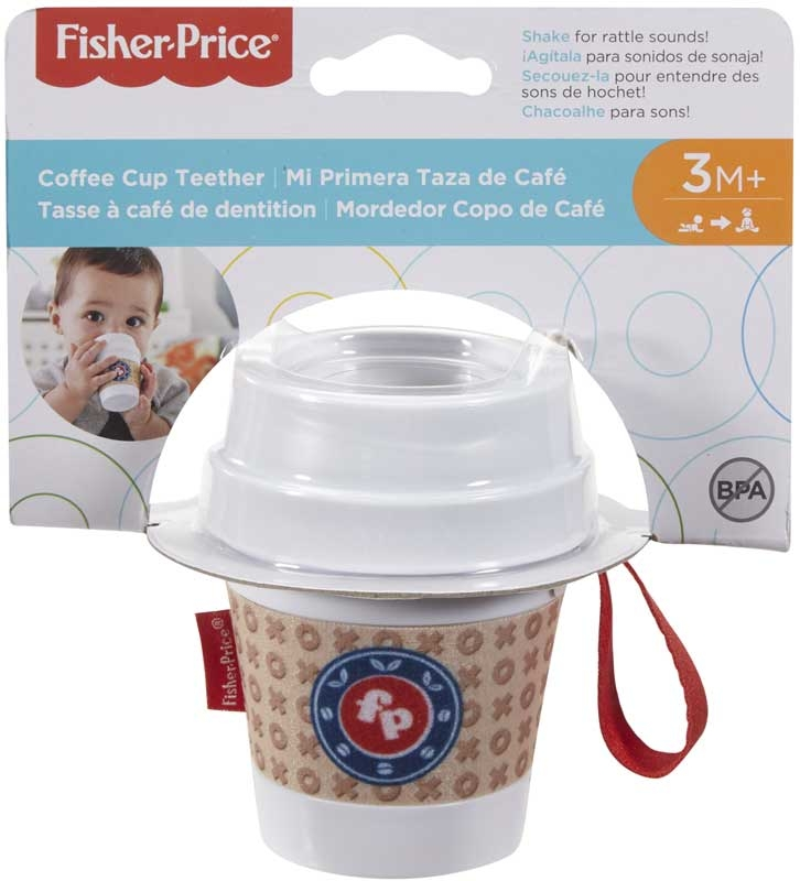 Wholesalers of Fisher-price Coffee Cup Teether toys