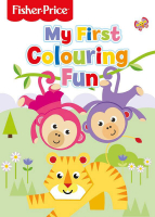 Wholesalers of Fisher Price Colouring Book Tiger toys image