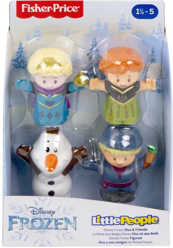 Wholesalers of Fisher-price Disney Frozen Elsa & Friends By Little People toys