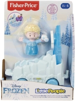Wholesalers of Fisher-price Disney Frozen Parade Elsas Float By Little Pe toys image