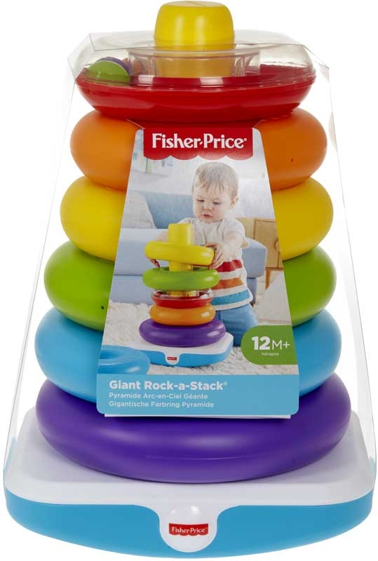 Wholesalers of Fisher-price Giant Rock-a-stack toys