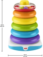 Wholesalers of Fisher-price Giant Rock-a-stack toys image 3