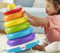Wholesalers of Fisher-price Giant Rock-a-stack toys image 4
