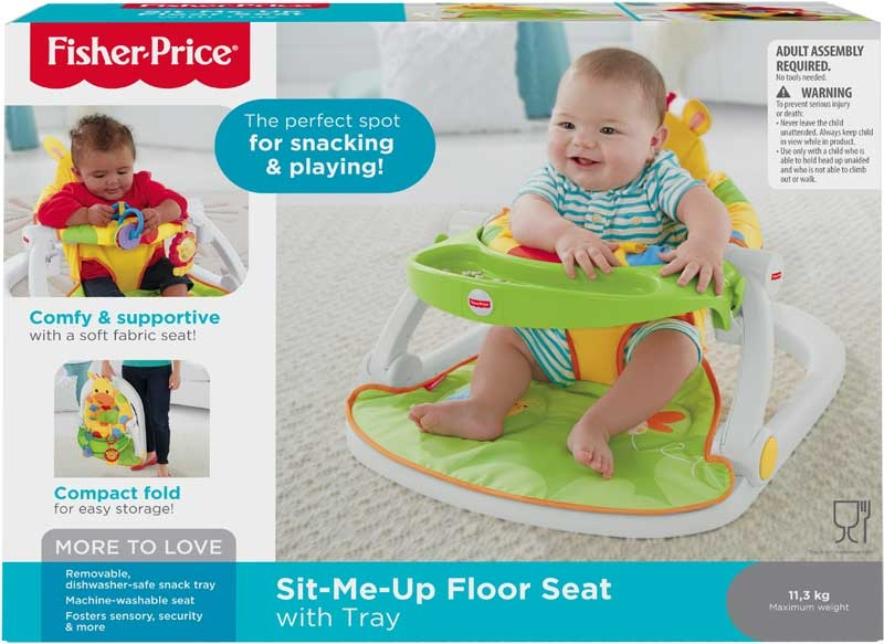 Wholesalers of Fisher-price Giraffe Sit-me-up Floor Seat With Tray toys