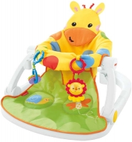 Wholesalers of Fisher-price Giraffe Sit-me-up Floor Seat With Tray toys image 2