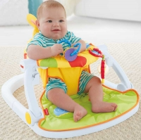 Wholesalers of Fisher-price Giraffe Sit-me-up Floor Seat With Tray toys image 3