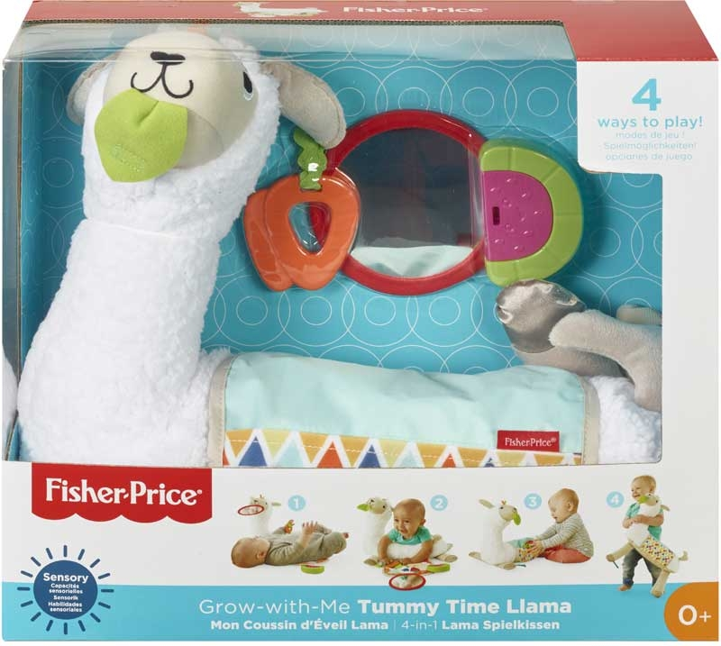 Wholesalers of Fisher-price Grow-with-me Tummy Time Llama toys
