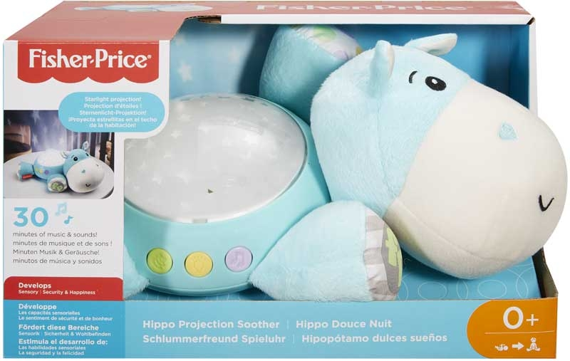 Wholesalers of Fisher-price Hippo Projection Soother toys