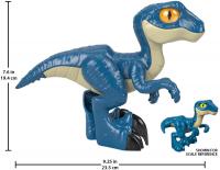 Wholesalers of Imaginext Jurassic World Xl Raptor toys image 3