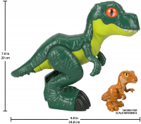 Wholesalers of Fisher Price Imx Jw T-rex Xl toys image 3