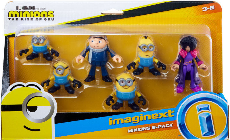 Wholesalers of Fisher Price Imx Minions Figure 6 Pack toys