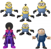 Wholesalers of Fisher Price Imx Minions Figure 6 Pack toys image 2