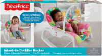 Wholesalers of Fisher-price Infant To Toddler Rocker - Pink toys image