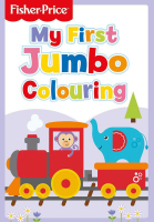 Wholesalers of Fisher Price Jumbo Colouring Book toys image